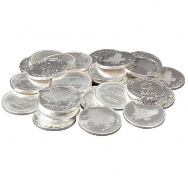 Silver Round Pile